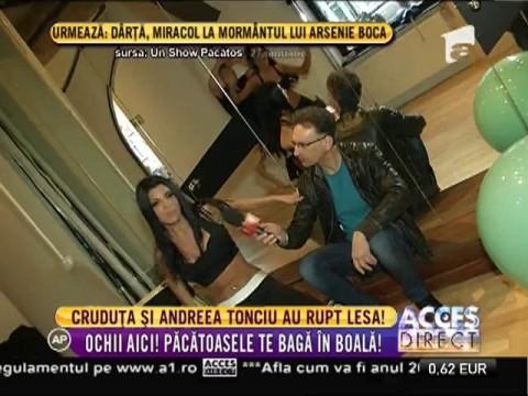 Daniela Crudu şi Andreea Tonciu au rupt lesă!
