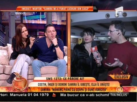 Femeile din viața lui Costin Mărculescu, jigniri în direct