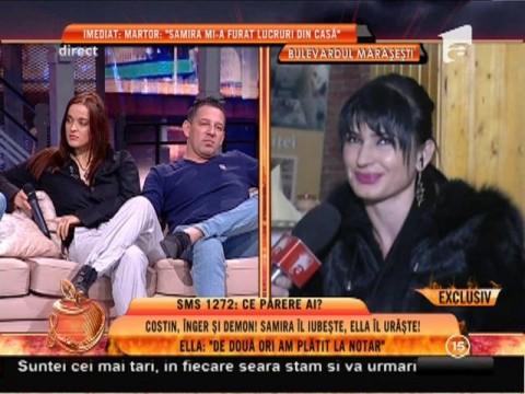 """Ella: """"Iubita lui Costin Mărculescu a beneficiat de ajutor social în 2008"""""""