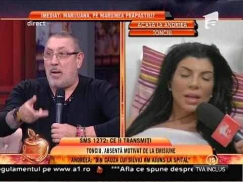 """Andreea Tonciu: """"Mi s-a făcut rău de la salam cu maioneză"""""""