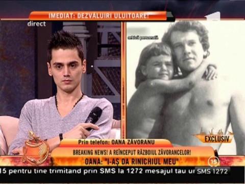 """Oana Zăvoranu: """"Tata a murit cu zile din cazua mamei mele! Nu i-a dat bani de operație când trebuia"""""""
