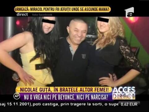 Nicolae Guţă, în brațele mai multor femei!