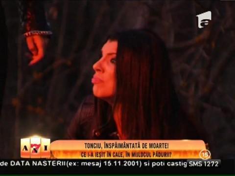 """Andreea Tonciu, înspăimântată de moarte! A dat nas în nas cu trei """"zombie""""!"""