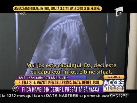 """Elena, fiica mamei din ceruri, pregătită să nască: """"Copilul meu va purta și numele bunicii!"""""""