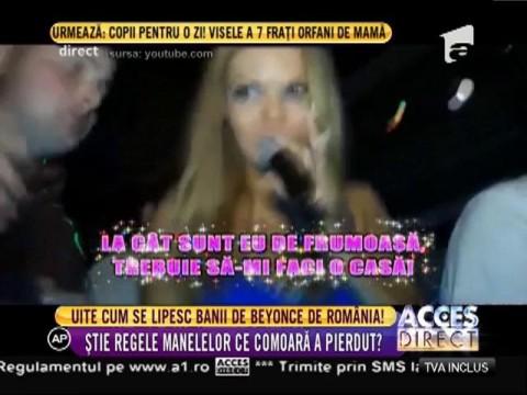 Uite cum se lipesc banii de Beyonce de România!