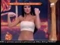 Daniela Crudu, dans fără inhibiții într-o bustieră transparentă!