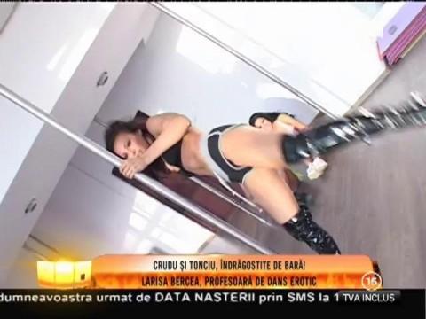 Andreea Tonciu şi Daniela Crudu, îndrăgostite de bară!