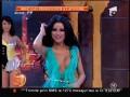 Daniela Crudu, dans păcătos cu sânii la vedere