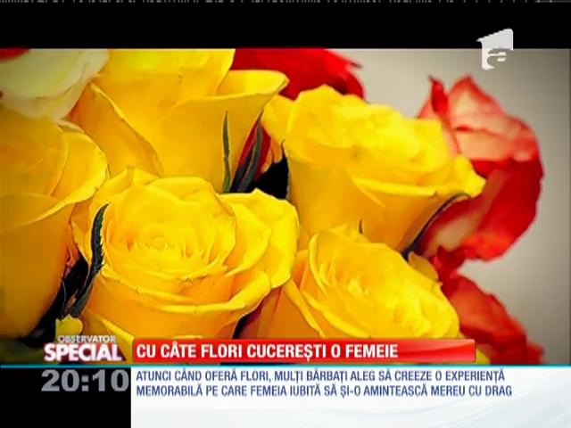 Femeia care cauta om cu floare)