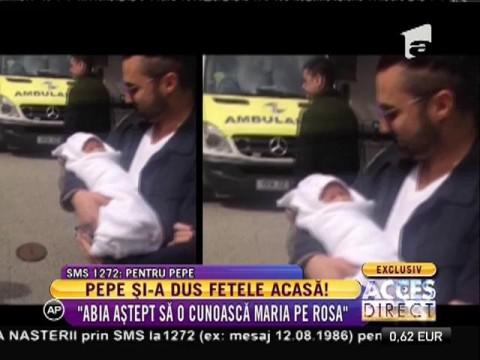 Pepe și-a dus a doua fetiță acasă