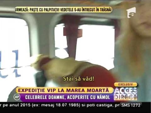 Expediţie VIP, la Marea Moartă! Monica Tatoiu, Simona Gherghe, Carmen Năstase şi Nicoleta Luciu, distracţie în Israel