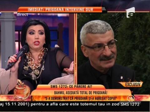 """Adriana Bahmuţeanu: """"S-a demonstrat că Prigoană şi-a agresat copilul"""""""