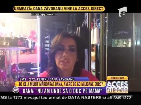 """Oana Zăvoranu, declarații șocante după moartea Mărioarei: """"S-a făcut dreptate!"""""""