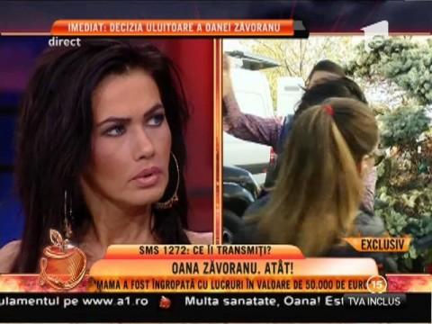 """Oana Zăvoranu: """"Mama a fost îngropată cu lucruri în valoare de peste 50 de mii de euro"""""""