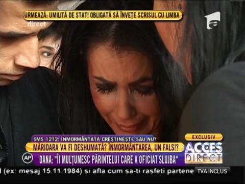 """Oana Zăvoranu: """"Nu mă interesează opinia Patriarhiei"""""""