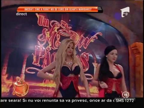 Daniela Crudu, dans fără lenjerie intimă!
