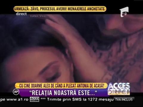 S-a rupt lanțul de iubire dintre Antonia şi Alex Velea