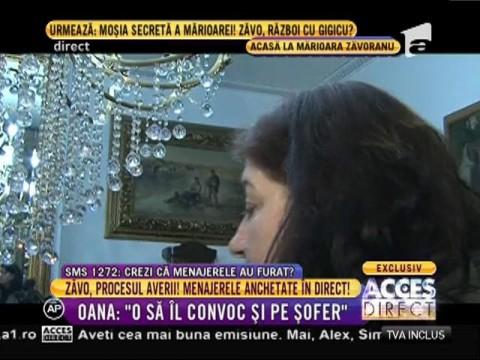 Oana Zăvoranu, faţă în faţă cu menajerele mamei sale! 02