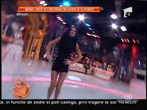 Daniela Crudu, dans păcătos