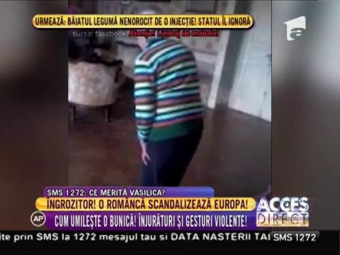 O româncă angajată să îngrijească o bătrână din Italia scandalizează Europa!