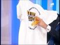 Mircea Badea a primit un tricou cu autograful lui Paul Williams