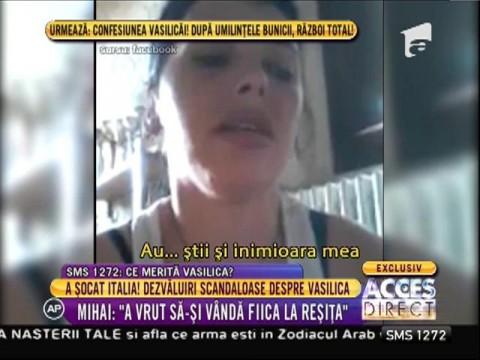 Femeia care a scandalizat Italia cântă cu patos pentru copiii ei
