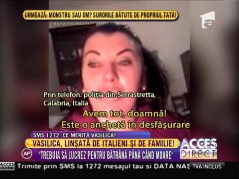 Românca care și-a bătut joc de o bătrână, linșată de italieni și de familie