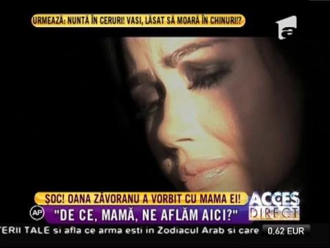 Oana Zăvoranu şi mama ei au vorbit cu ajutorul unui parapsiholog!
