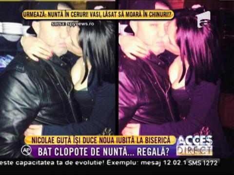 Nicolae Guţă își duce noua iubită la biserică