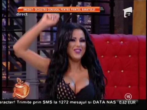 Daniela Crudu, dans sexy de joi seara!