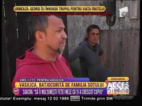 Vasilica, umilită de familia fostului ei soţ!