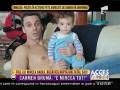 Fiul lui Mircea Badea și al lui Carmen Brumă a împlinit un an