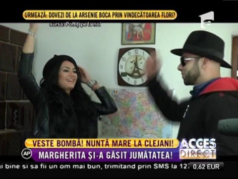 Margherita din Clejani şi-a găsit jumătatea şi se mărită!