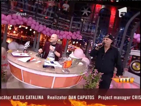"Nicolae Guţă - ""Adio plictiseală"""