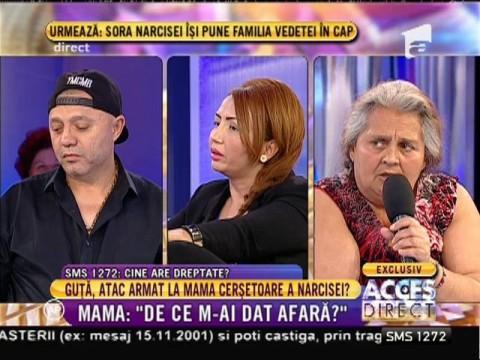 "Nicolae Guță, atac la mama Narcisei: ""Am o soacră turbo-turbină!"""