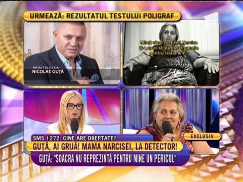 Mama Narciei Guță, la detectorul de minciuni. Află aici rezultatul!