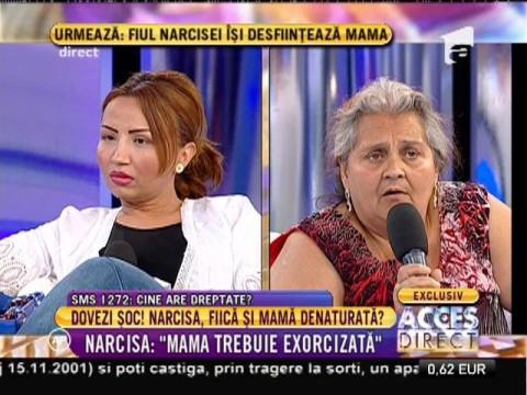 """Narcisa: """"Mama trebuie exorcizată!"""""""