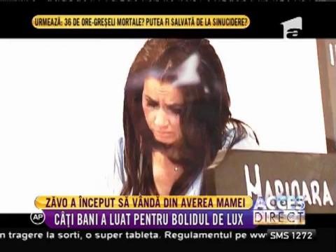 Oana Zăvoranu a început să vândă din comorile lăsate de mama ei?