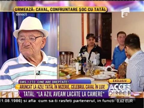 """Tatăl lui Adi Caval: """"I-am dat 25.000 de euro fiului să-mi facă o casă"""""""