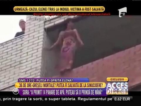 Tragedia femeii care a sărit de pe bloc! Detalii neştiute despre operaţiunea de salvare