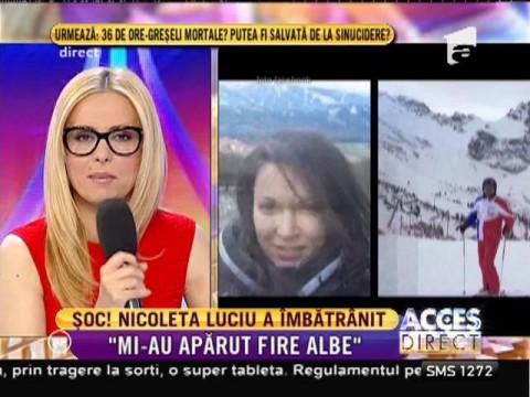 Nicoleta Luciu are fire albe