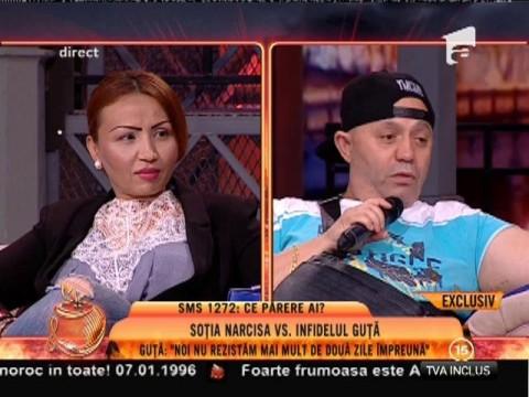 """Nicolae Guţă: """"Un an de zile i-am fost fidel Narcisei"""""""