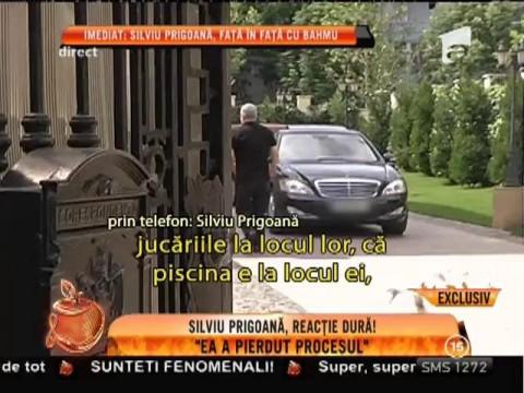 """Primele declaraţii ale lui Silviu Prigoană, după divorţul de Adriana Bahmuţeanu: """"Ea a pierdut procesul"""""""