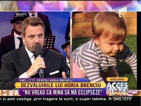 """Dezvăluirile lui Horia Brenciu: """"Eu sunt copilul lui tata"""""""