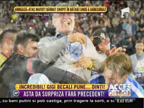 Incredibil! Gigi Becali vrea să pună dinţi!