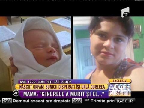 Caz dramatic! Un bebeluș a rămas orfan după ce mama lui a murit la naștere