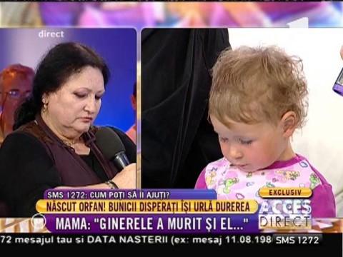 """Mama Alinei, tânăra care s-a stins imediat după ce a născut: """"Și ginerele meu a murit electrocutat pe șantier!"""""""