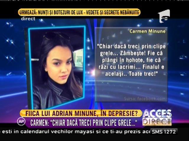 Fiica lui Adrian Minune trece prin momente greu de imaginat