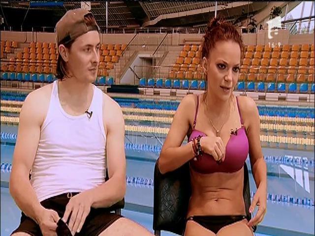 """WOW! Andreea Antonescu, apariție super HOT la """"Splash""""! Toți au fost cu ochii pe ea!"""