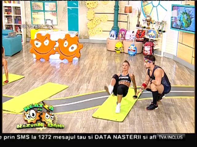 Fitness la Neatza! Exerciții fizice post-vacanță